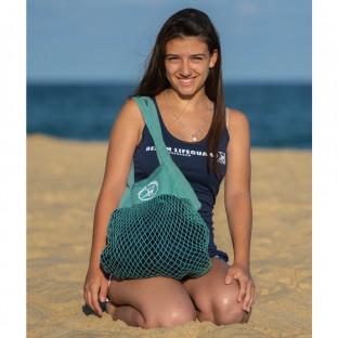 Débardeur Femme Stretch Beach Lifeguard Marine