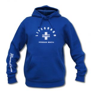 Sweat capuche Beach Lifeguard Bleu