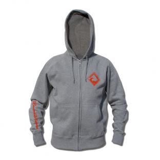 Sweat capuche zippé Beach Lifeguard Gris