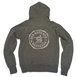 Sweat capuche Beach Lifeguard Gris