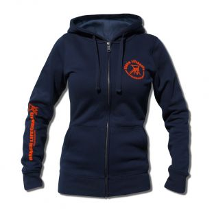 Sweat capuche zippé Beach Lifeguard Marine