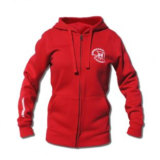 Sweat capuche zippé Beach Lifeguard Rouge