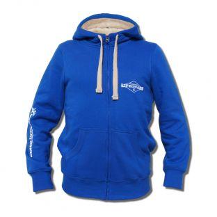 Veste capuche Sherpa mixte Beach Lifeguard Bleu