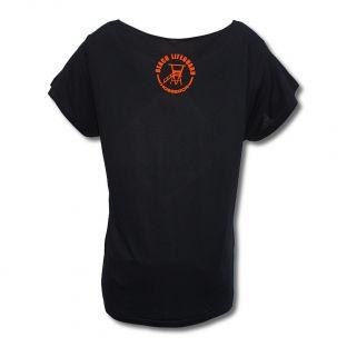 Tee Shirt tunique femme Beach Lifeguard Noir
