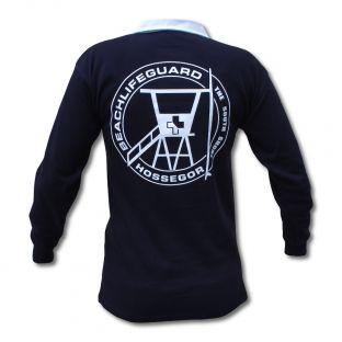 Polo Rugby Enfant Beach Lifeguard Marine