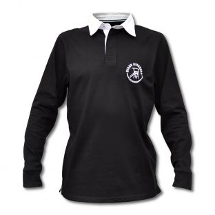 Polo Rugby Enfant Beach Lifeguard Noir