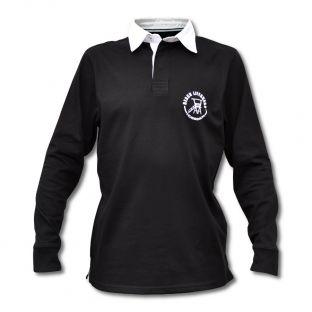 Polo Rugby Enfant Beach Lifeguard Noir
