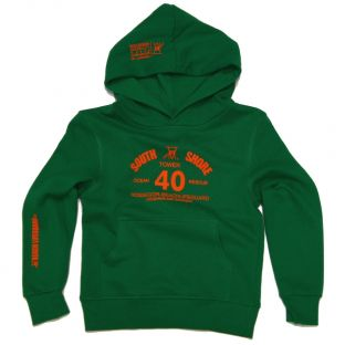 Sweat capuche Beach Lifeguard Vert