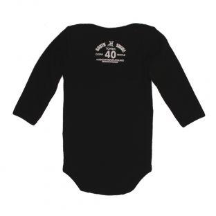 Body manches longues Beach Lifeguard Noir