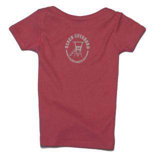 Tee shirt manches courtes Beach Lifeguard Rose