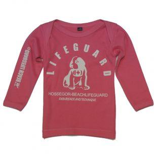 Tee shirt manches longues Beach Lifeguard Rose