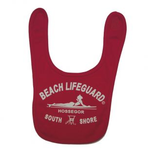 Bavoir Beach Lifeguard Fushcia