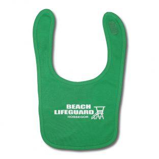 Bavoir Beach Lifeguard Vert