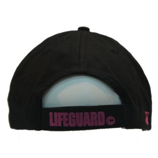 Casquette adulte Beach Lifeguard Noir