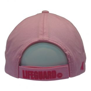 Casquette adulte Beach Lifeguard Rose