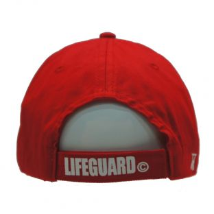 Casquette adulte Beach Lifeguard Rouge