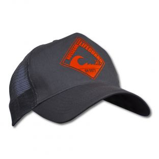 Casquette Trucker Beach Lifeguard Grise