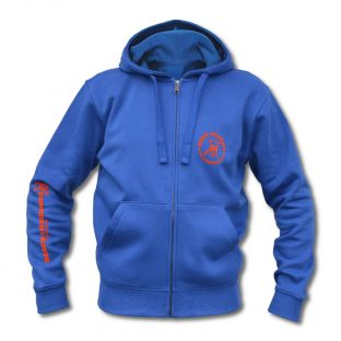 Sweat capuche zippé Beach Lifeguard Bleu