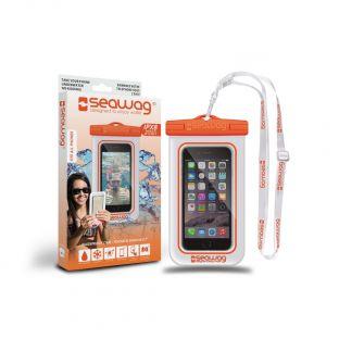 Pochettes étanches Seawag Blanc Orange (smartphone)