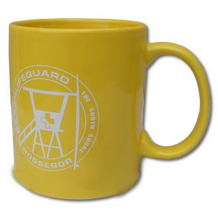 Mug Beach Lifeguard Jaune