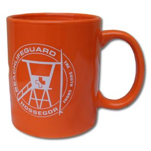 Mug Beach Lifeguard Orange