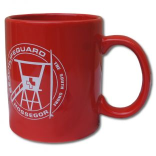Mug Beach Lifeguard Rouge