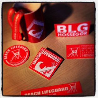 Stickers Beach Lifeguard