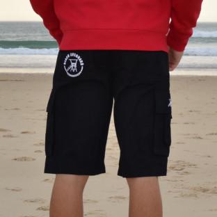 Bermuda Trekk Beach Lifeguard Noir