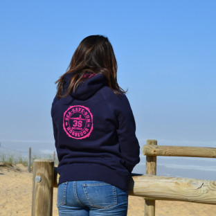 Sweat capuche Beach Lifeguard Marine