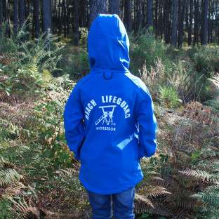 Veste Softshell Enfant Beach Lifeguard Bleu
