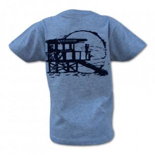 Tee shirt manches courtes Beach Lifeguard Blanc