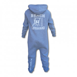 Grenouillère Enfant Beach Lifeguard Gris