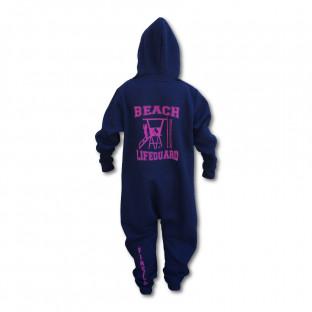 Grenouillère Enfant Beach Lifeguard Marine