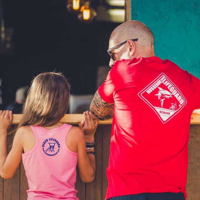 Robe débardeur Beach Lifeguard Rose