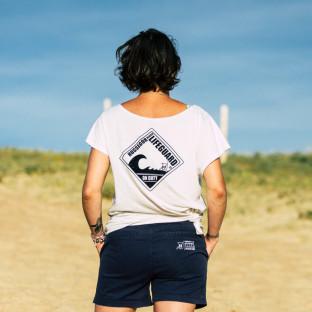 Short classique Femme Beach Lifeguard Marine