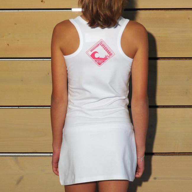 Robe débardeur Beach Lifeguard Blanc