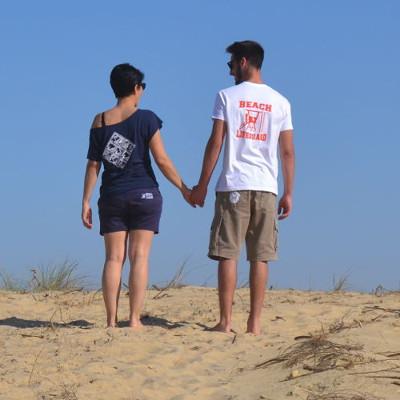 Tee Shirt Femme Beach Lifeguard Hossegor