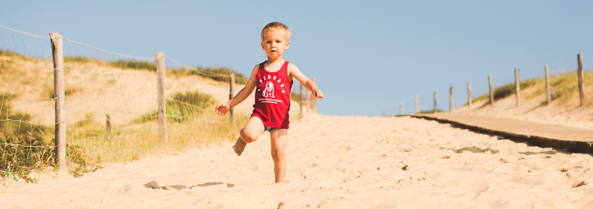 Tee Shirt Enfant Beach Lifeguard Hossegor