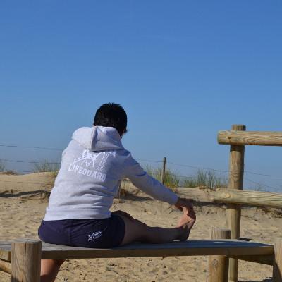 Sweat et Short Femme Beach Lifeguard Hossegor