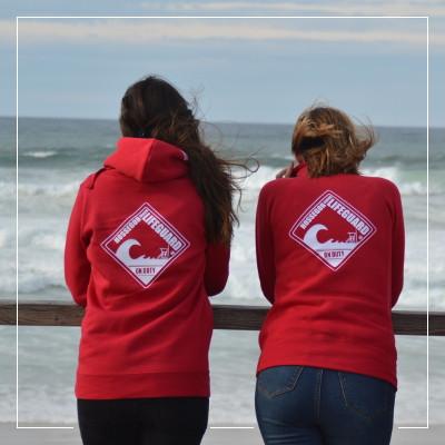 Sweat Femme Beach Lifeguard Hossegor