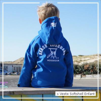 Veste Softshell Enfant Beach Lifeguard Hossegor